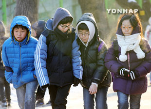 Severe Cold Snaps to Hit S. Korea this Winter