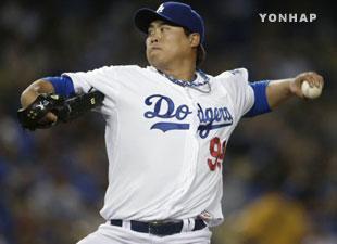 Ryu Hyun-jin Plays Well in Debut Match