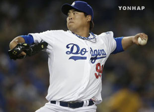 Ryu Hyun-jin Plays Well in Debut Match