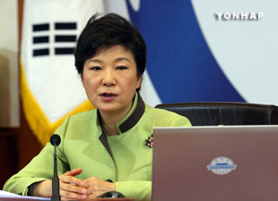 Pres. Park Prays God's Comfort Will Go to Victims, Bereaved Families of Ferry Sinking