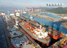 Orders for Korean Ships Up but Monetary Value Down in Q1