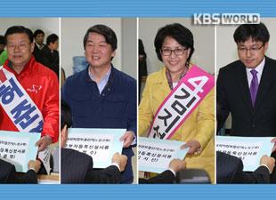 Kandidat legislatif lancarkan kegiatan kampanye tahap akhir untuk pemilihan sela tgl. 24 April