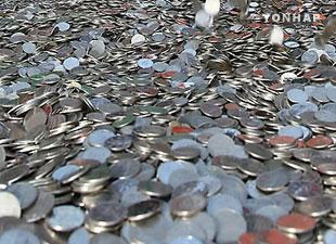 硬貨の使用減る 韓国銀行が新規発行中断を検討