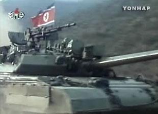 Corea del Norte dota a sus nuevos tanques de instalación eléctrica