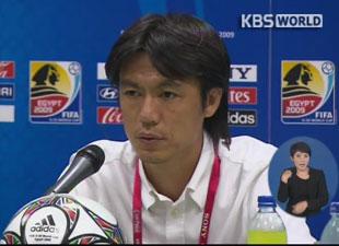 サッカー代表の新監督 洪明甫氏に決定