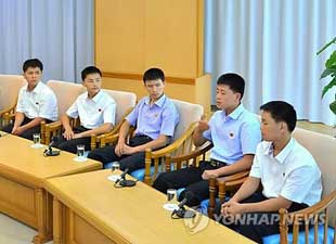 KCNA: Repatriated Youths Claim Kidnapping by S. Korea