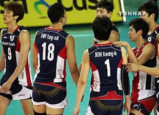 バレーボール男子のアジア選手権 韓国は銅メダル