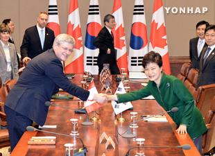 S. Korea, Canada Agree to Launch FTA