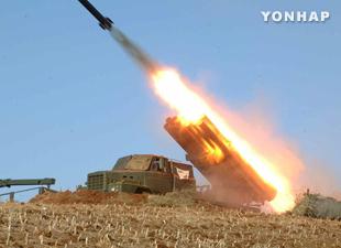 韩国军方在西北岛屿进行海上射击演练 北韩强烈谴责
