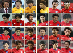 サッカーW杯メンバーの背番号を発表