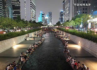 ソウルに今夏初の熱帯夜