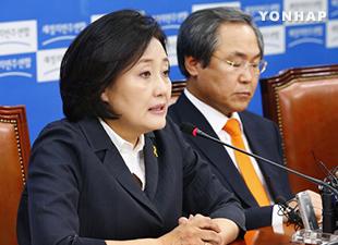 新政治民主連合の朴映宣委員長 辞任と離党を検討