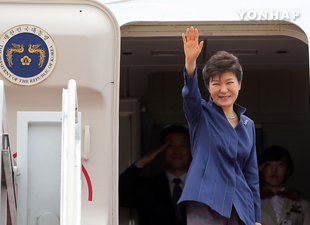 President Park Leaves for UN General Assembly