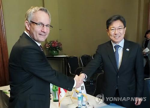S. Korea to Sign FTA with Canada Tuesday