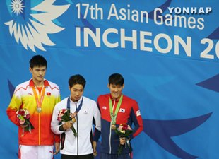 Swimmer Park Tae-hwan Wins Bronze in 200m Freestyle