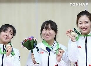 Tim putri Korea Selatan menang perunggu di nomor pistol angin 10 meter
