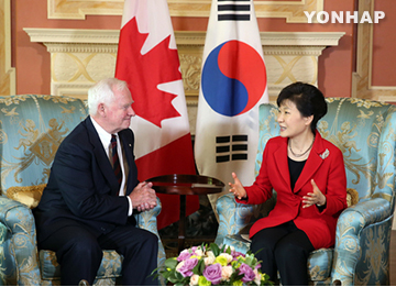 Pres. Park Begins Official Schedule in Canada