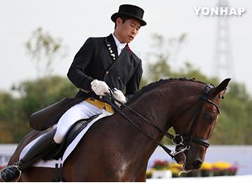 Hwang Young-shik wird zweifacher Goldmedaillenträger
