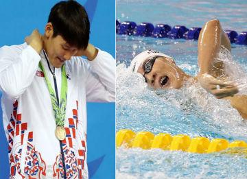 S. Korean Swimmer Park Tae-hwan Wins Bronze in 400M Freestyle