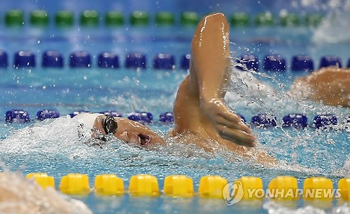 Park Tae-hwan Wins 20th Asiad Medal with Friday's Bronze