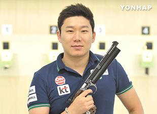 射撃の秦鍾午 ISSF公認世界大会で金メダル
