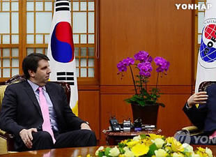 US Ambassador to Seoul Meets With S. Korean Foreign Minister