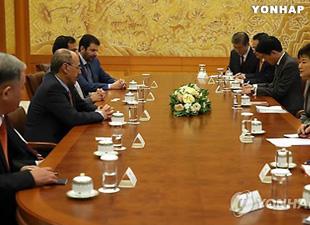 Presiden Park dan Menteri Ekonomi Saudi bahas kerja sama energi nuklir