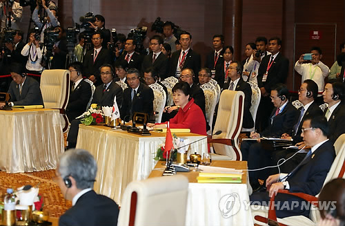 Park Proposes S. Korea, China, Japan Hold 3-way Summit