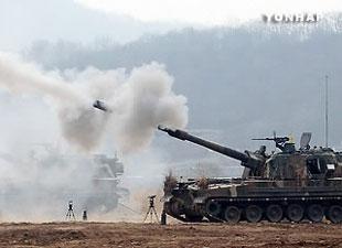 Hải quân Hàn Quốc tập trận tại các đảo Tây Bắc