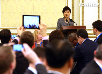 Pres. Park: N. Korean People Facing Tragic Human Rights Situation