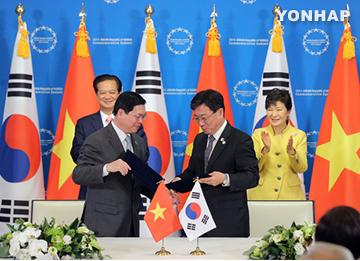 S. Korea, Vietnam Establish Free Trade Deal
