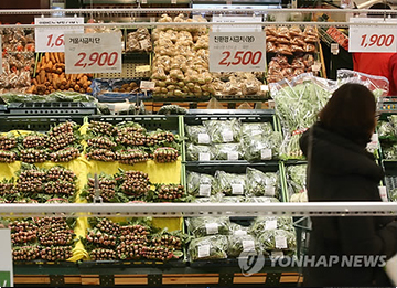S. Korea's Inflation Posts Lower than G7 Average