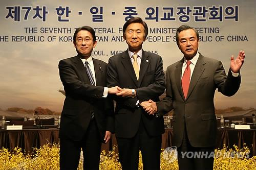Difficulty of Mending Ties at Trilateral Ministerial Talks, Japanese Media