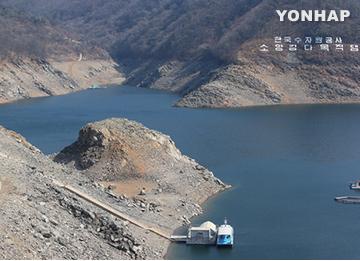 Уровень воды в водохранилище на реке Соянган сократился еще больше