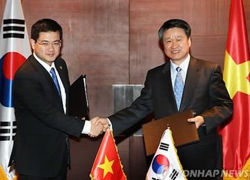 S. Korea, Vietnam Initial Free Trade Deal