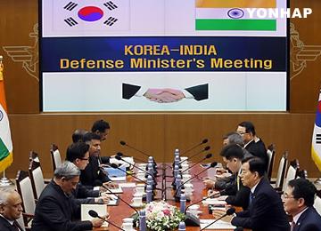 Menteri Pertahanan Korea Selatan dan India sepakat perkuat kerja sama