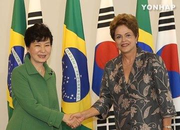 Президенты РК и Бразилии договорились активизировать сотрудничество