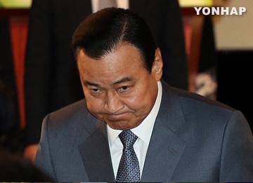 박대통령, 이총리 사의 수용···오후 6시10분 이임식
