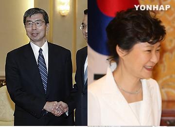 박 대통령, 26일 일본 관료 출신 ADB 총재 접견