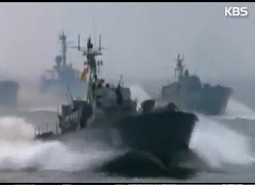 北韩在西海地区部署新型高速汽艇