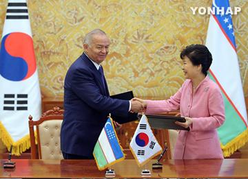Corea y Uzbekistán acuerdan cooperar en proyectos de infraestructuras