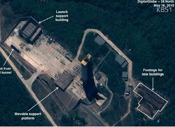 38 North: N. Korea Rebuilding Sohae Satellite Launching Station