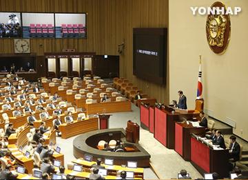 국회법 재상정···새누리당 불참으로 표결 불성립
