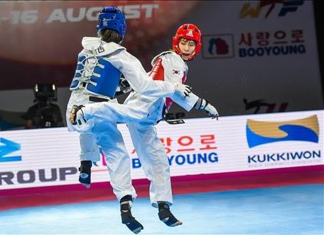 世界テコンドーグランプリ キム・ソヒが金