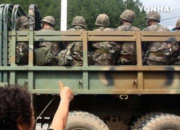 Kesiapsiagaan pasukan dua Korea berangsur normal