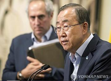 联合国再次证实潘基文将出席中国阅兵式