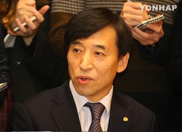 BOK Governor: S. Korea Won't Immediately Follow US Rate Hike