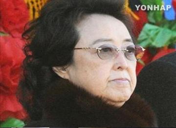 金委員長の叔母、金慶喜さんは健在 北韓メディア