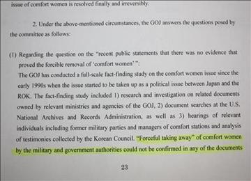 Japan Denies Coercion of Sex Slaves in UN Report