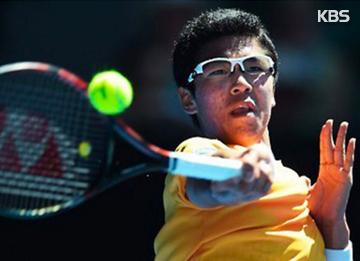 Chung Melaju ke Putaran ke-2 Turnamen Tenis Dunia ABN